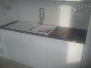 blaty kuchenne z granitu Fusion Black
