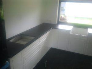 blaty kuchenne z granitu Zimbabwe Black antyk